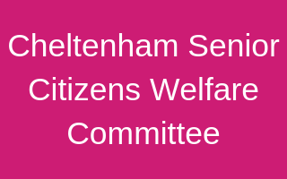 Cheltenham Senior Citizens Welfare Committee